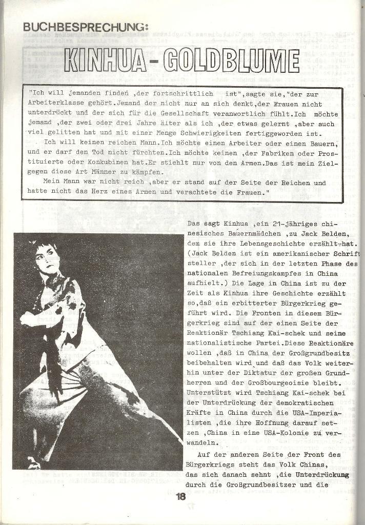Schulkampf _ Zeitung des KOB, Nr. 3/73, Seite 18