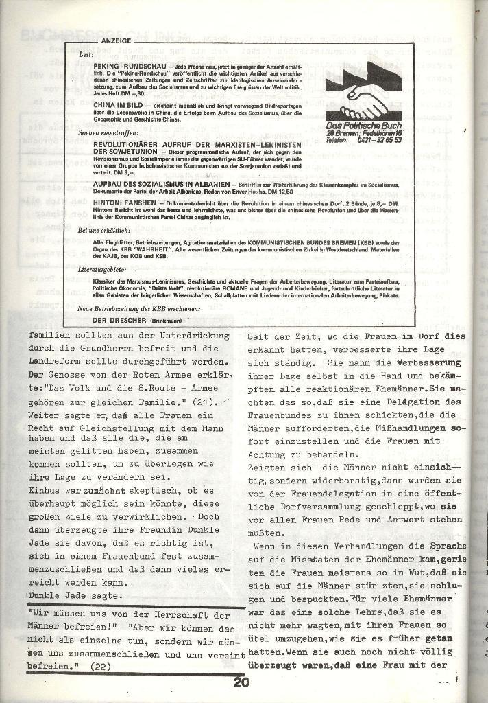 Schulkampf _ Zeitung des KOB, Nr. 3/73, Seite 20