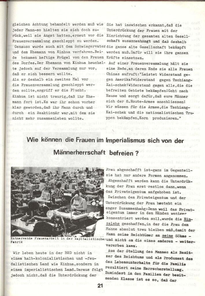 Schulkampf _ Zeitung des KOB, Nr. 3/73, Seite 21