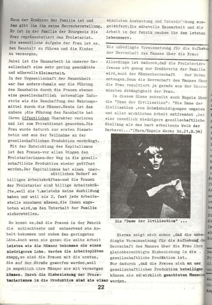 Schulkampf _ Zeitung des KOB, Nr. 3/73, Seite 22