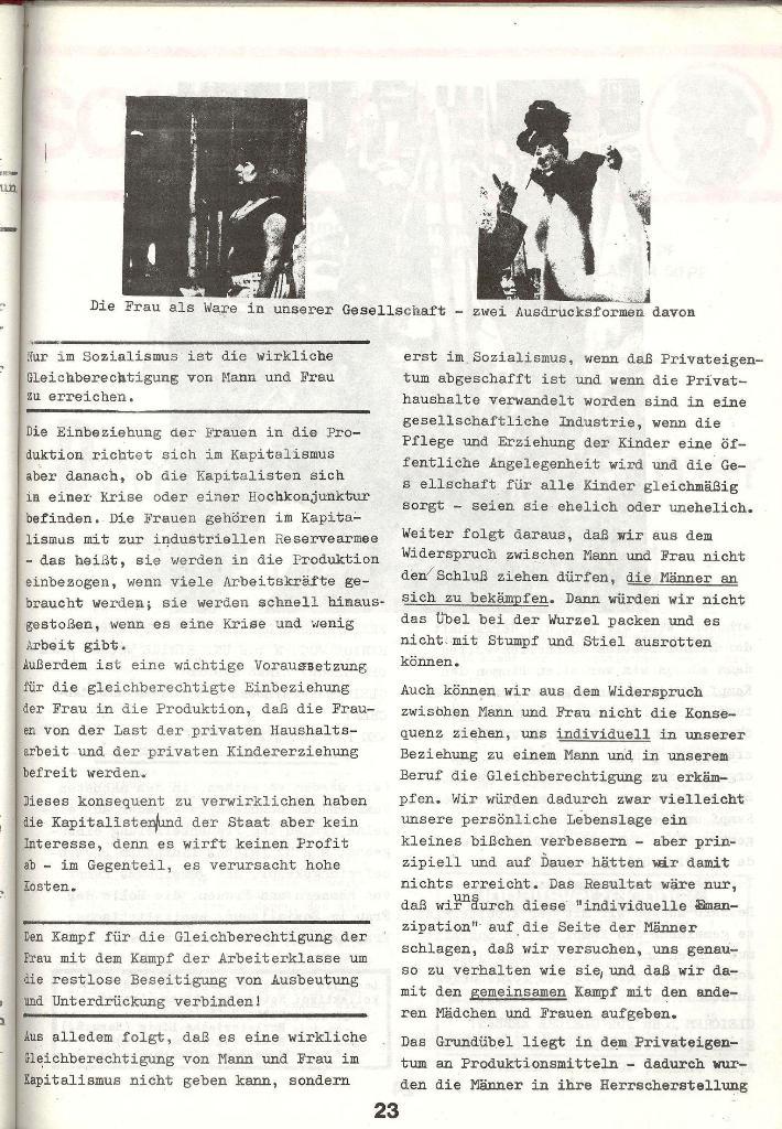 Schulkampf _ Zeitung des KOB, Nr. 3/73, Seite 23