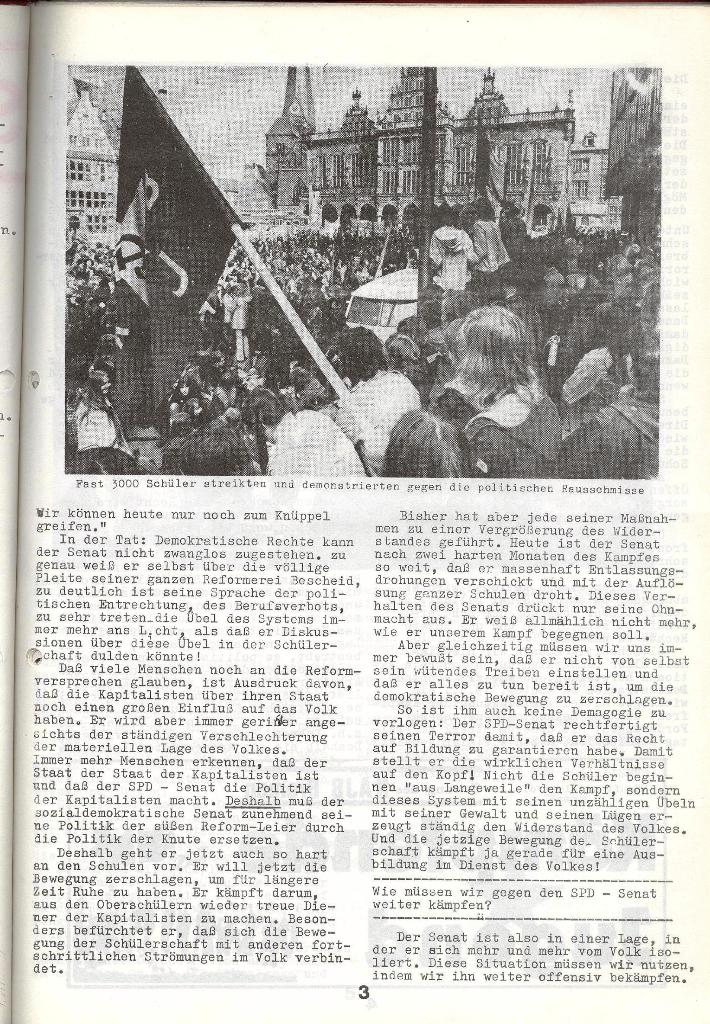 Schulkampf _ Zeitung des KOB, Nr. 4/73, Seite 3