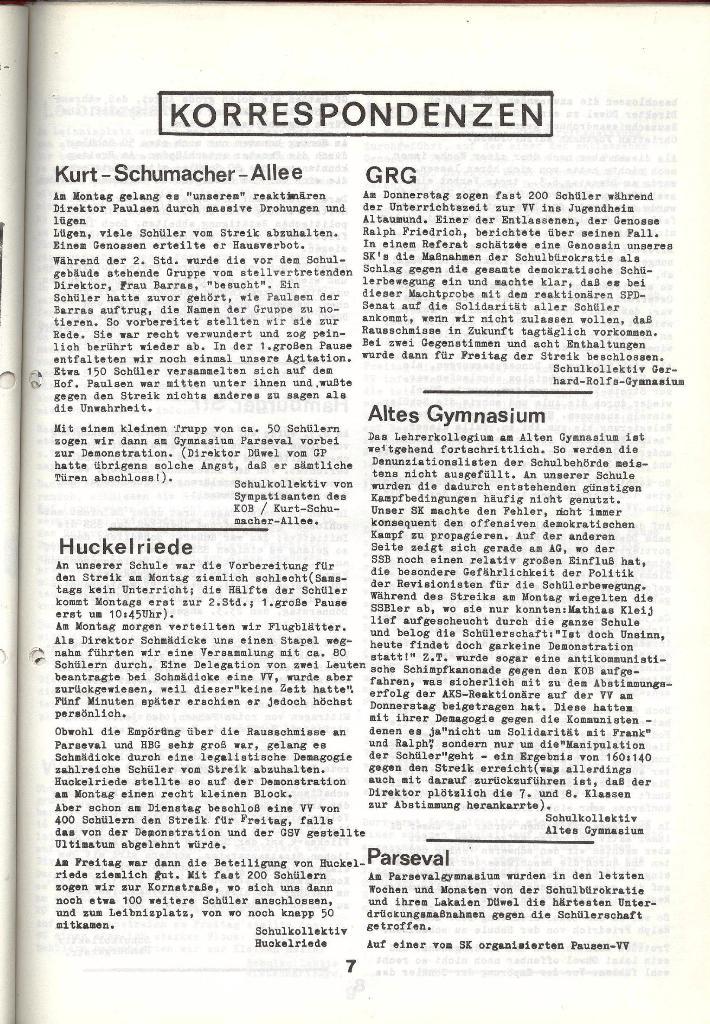 Schulkampf _ Zeitung des KOB, Nr. 4/73, Seite 7