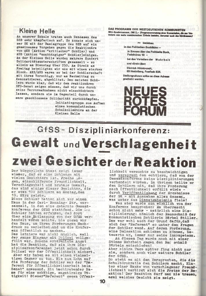 Schulkampf _ Zeitung des KOB, Nr. 4/73, Seite 10