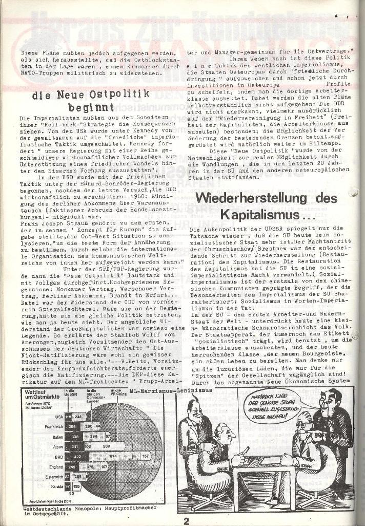 Schulkampf _ Zeitung des KOB, Nr. 5/73, Seite 2