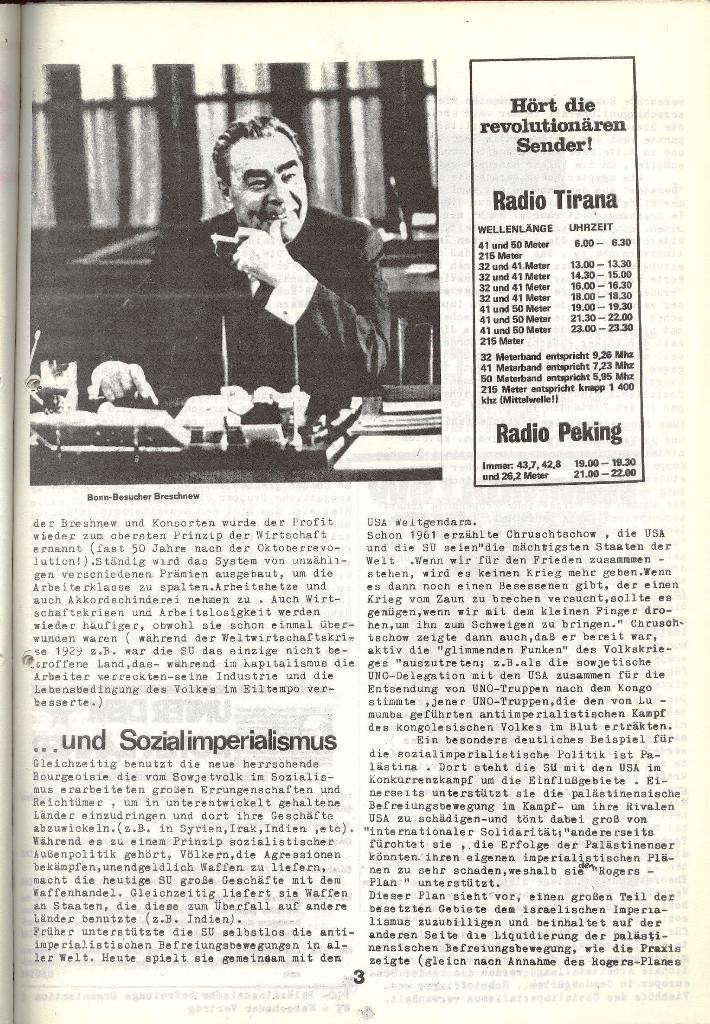 Schulkampf _ Zeitung des KOB, Nr. 5/73, Seite 3