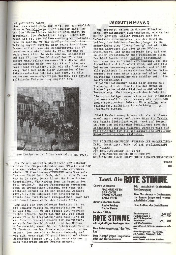 Schulkampf _ Zeitung des KOB, Nr. 5/73, Seite 7