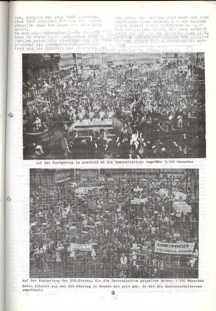 Schulkampf _ Zeitung des KOB, Nr. 5/73, Seite 9