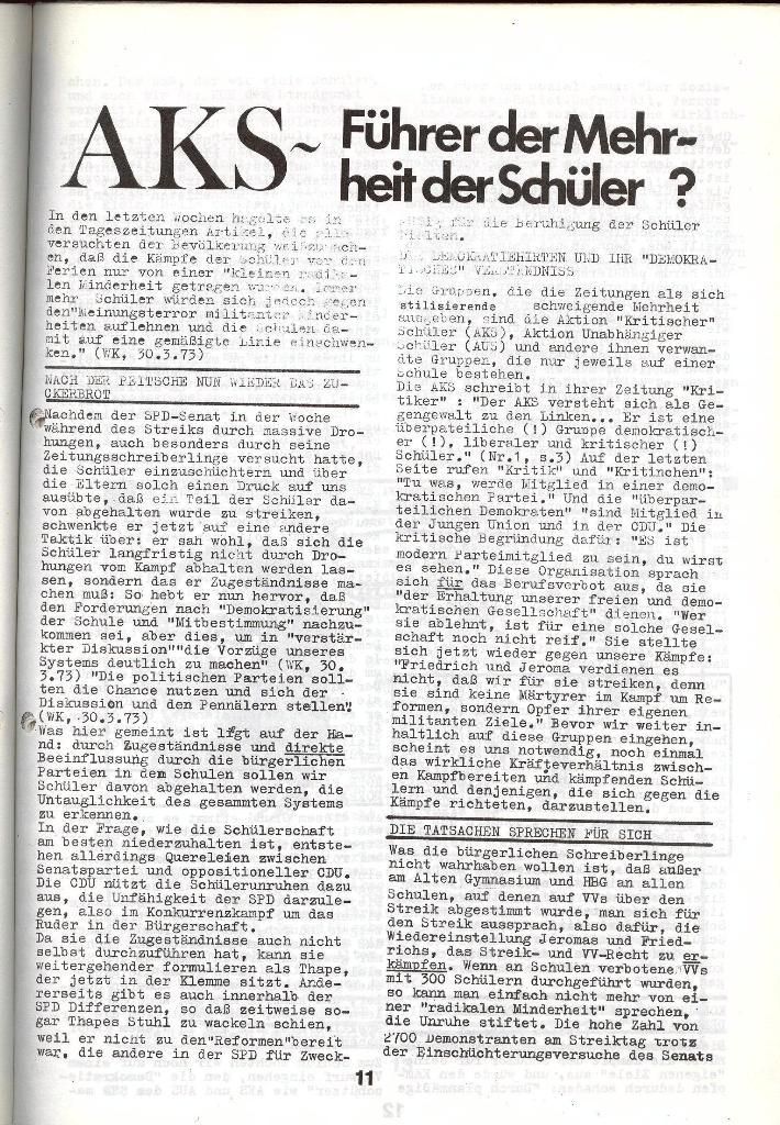 Schulkampf _ Zeitung des KOB, Nr. 5/73, Seite 11