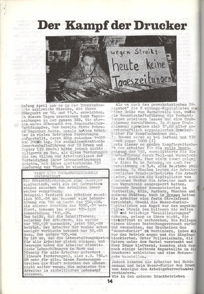 Schulkampf _ Zeitung des KOB, Nr. 5/73, Seite 14