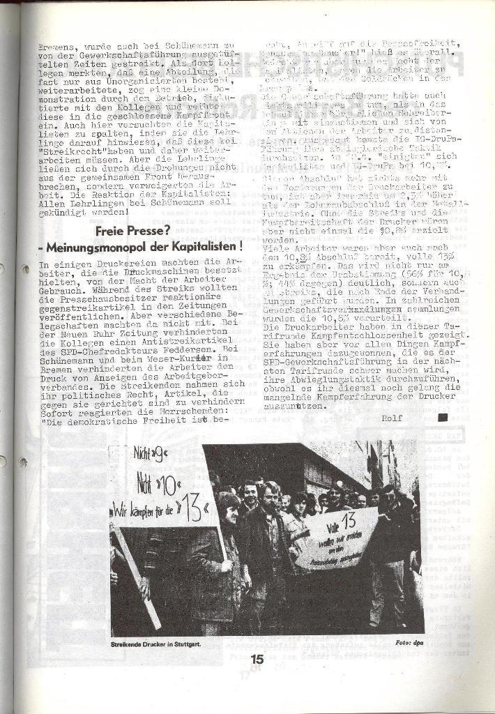 Schulkampf _ Zeitung des KOB, Nr. 5/73, Seite 15