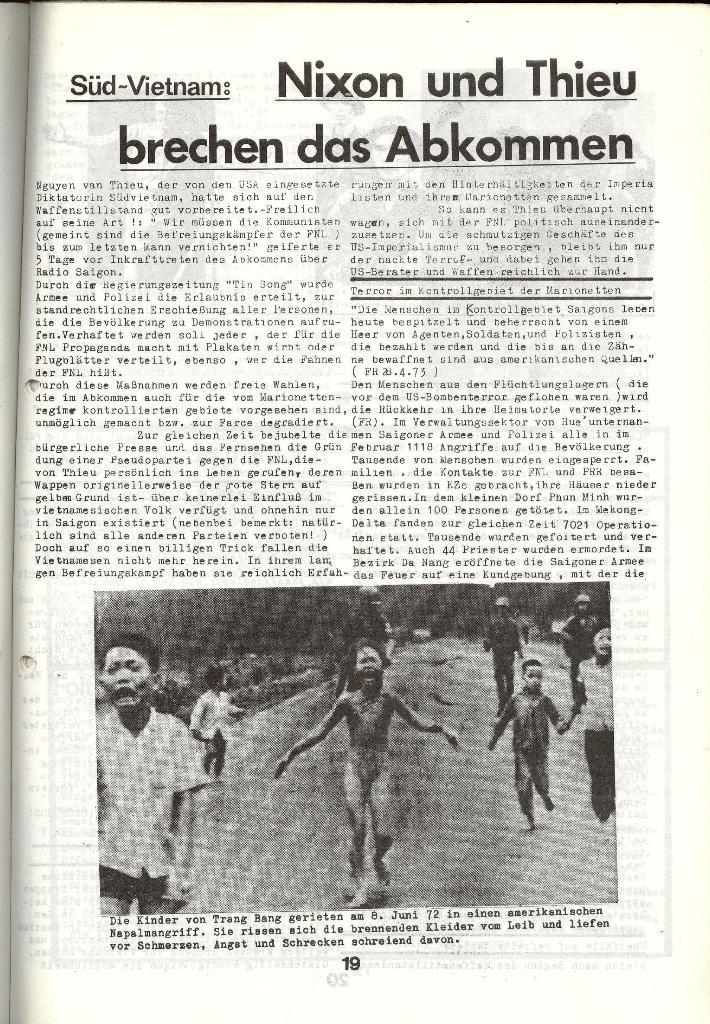 Schulkampf _ Zeitung des KOB, Nr. 5/73, Seite 19