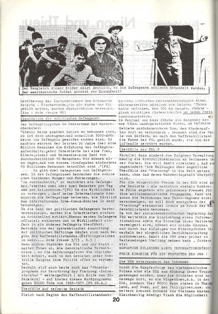 Schulkampf _ Zeitung des KOB, Nr. 5/73, Seite 20
