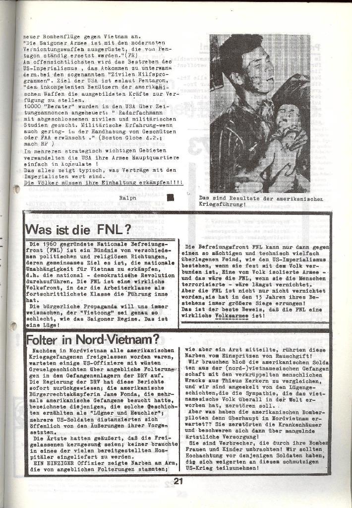 Schulkampf _ Zeitung des KOB, Nr. 5/73, Seite 21
