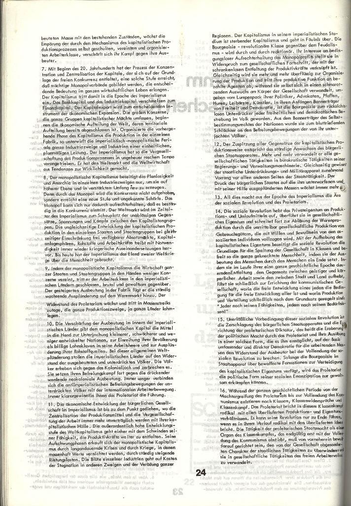 Schulkampf _ Zeitung des KOB, Nr. 5/73, Seite 24