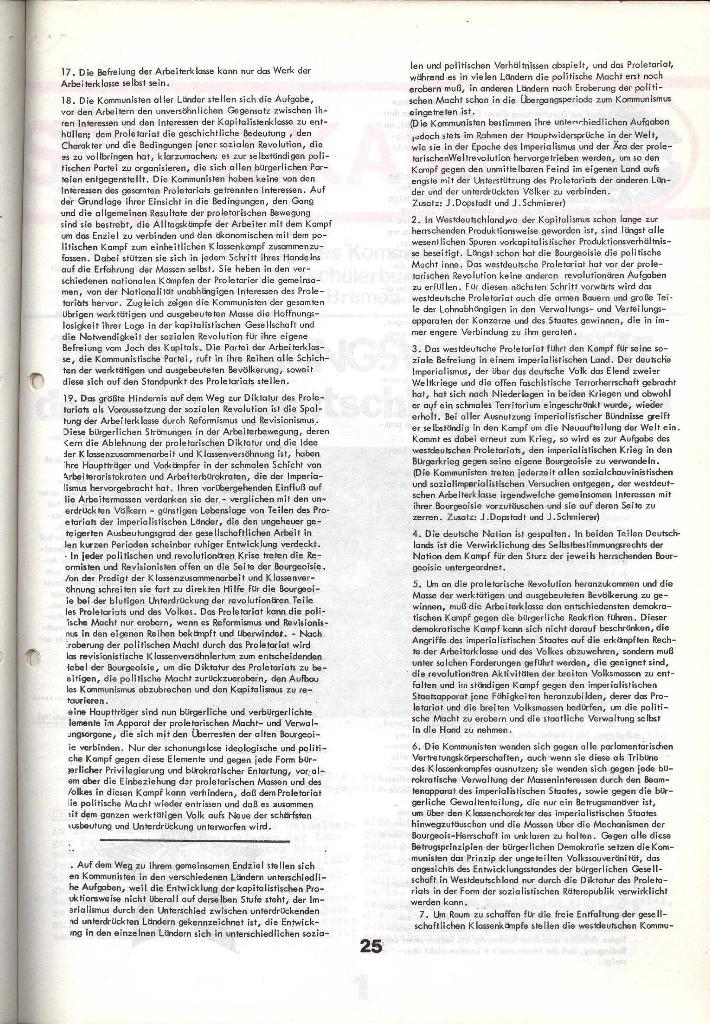Schulkampf _ Zeitung des KOB, Nr. 5/73, Seite 25
