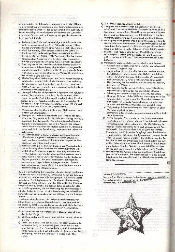 Schulkampf _ Zeitung des KOB, Nr. 5/73, Seite 26