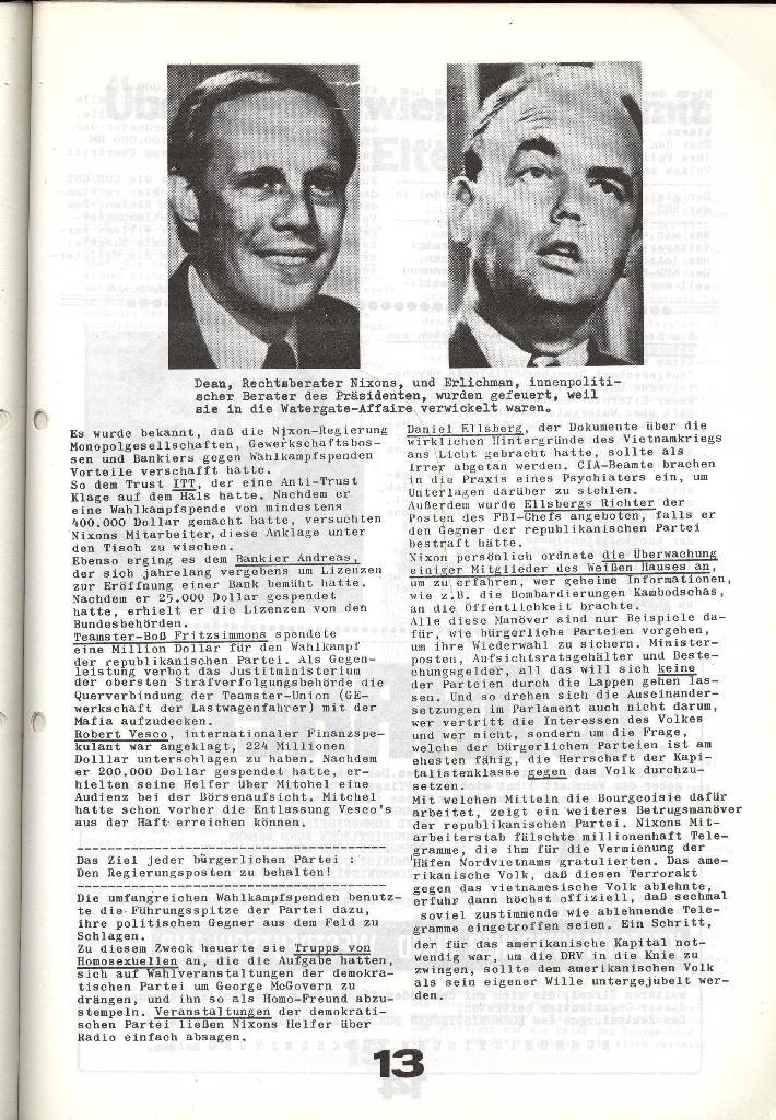 Schulkampf _ Zeitung des KOB, Nr. 6/73, Seite 13