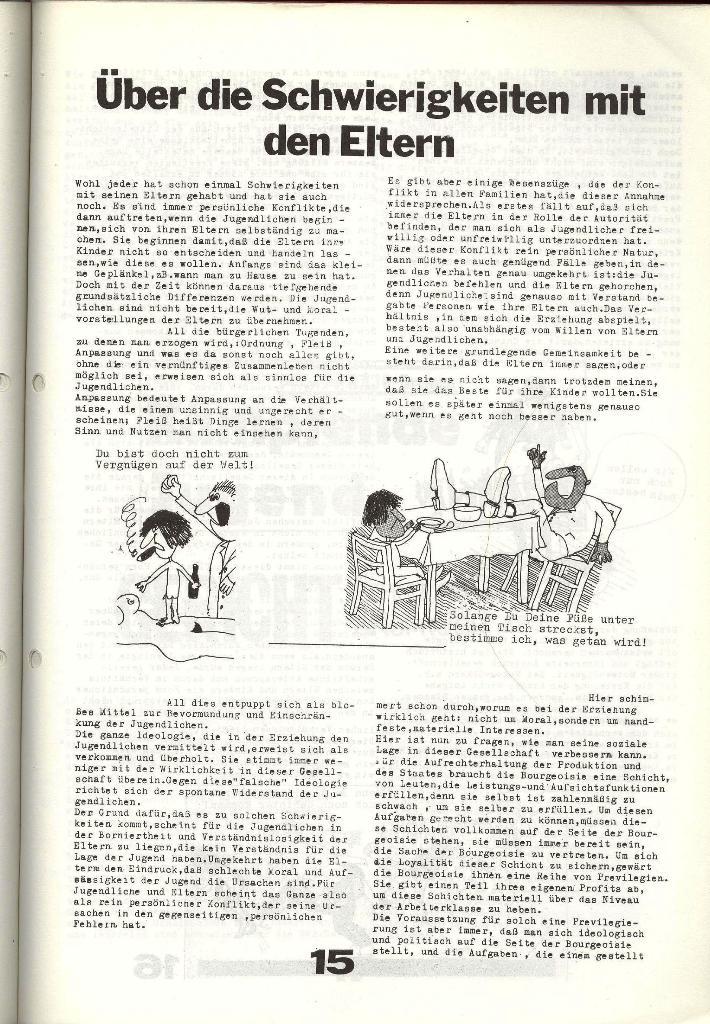 Schulkampf _ Zeitung des KOB, Nr. 6/73, Seite 15
