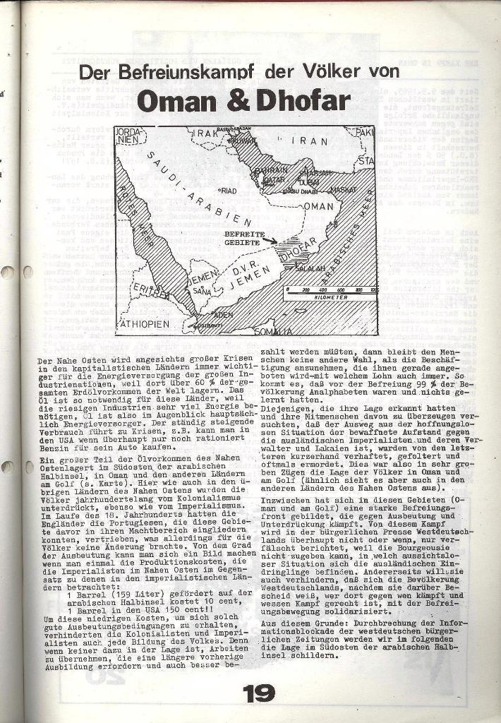 Schulkampf _ Zeitung des KOB, Nr. 6/73, Seite 19