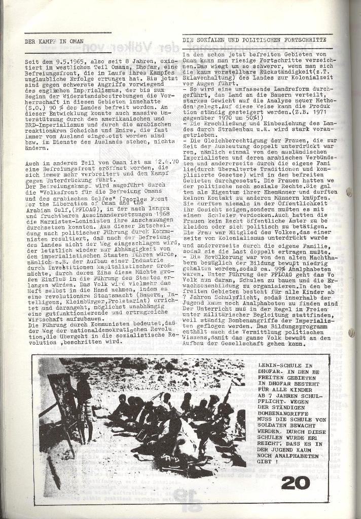 Schulkampf _ Zeitung des KOB, Nr. 6/73, Seite 20