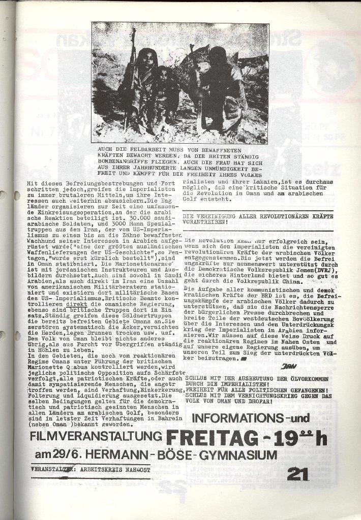 Schulkampf _ Zeitung des KOB, Nr. 6/73, Seite 21