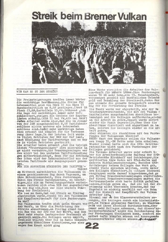 Schulkampf _ Zeitung des KOB, Nr. 6/73, Seite 22