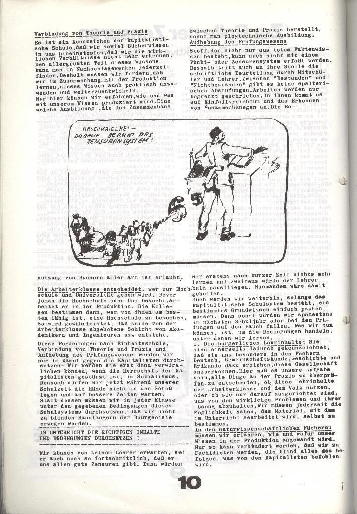 Schulkampf _ Zeitung des KOB, Nr. 7/73, Seite 10