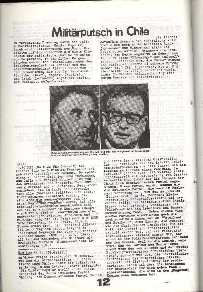 Schulkampf _ Zeitung des KOB, Nr. 7/73, Seite 12