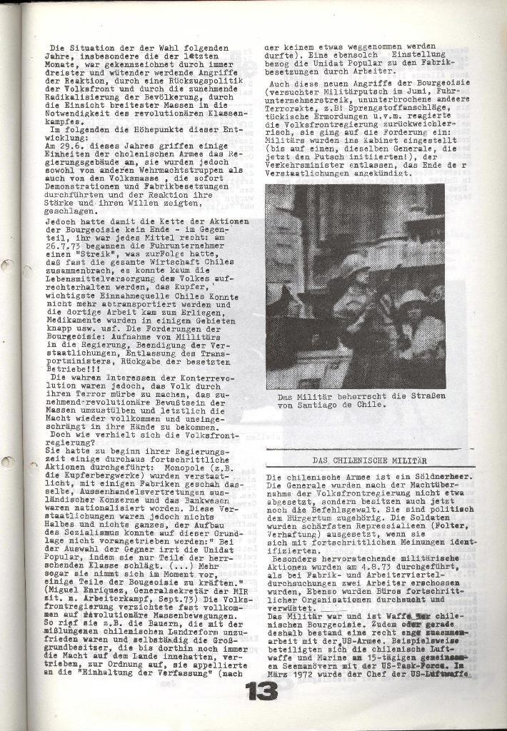 Schulkampf _ Zeitung des KOB, Nr. 7/73, Seite 13