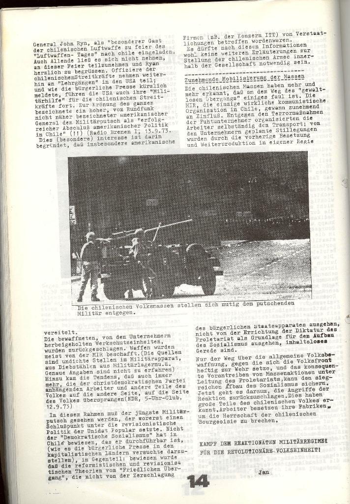Schulkampf _ Zeitung des KOB, Nr. 7/73, Seite 14