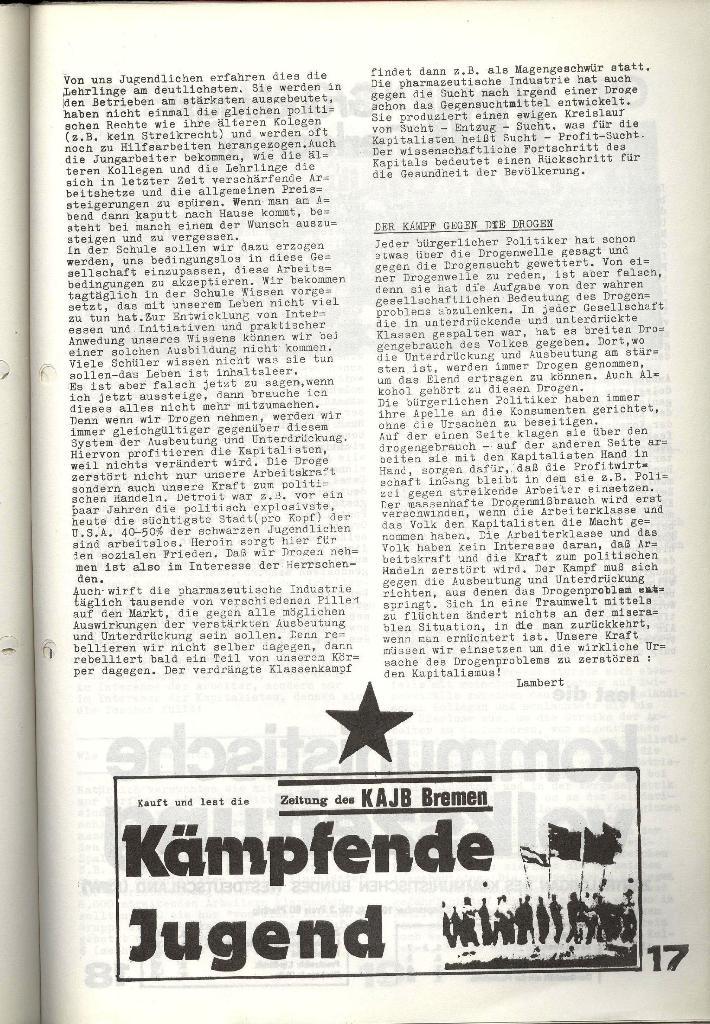 Schulkampf _ Zeitung des KOB, Nr. 7/73, Seite 17