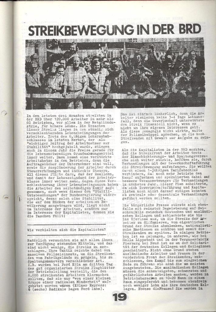 Schulkampf _ Zeitung des KOB, Nr. 7/73, Seite 19