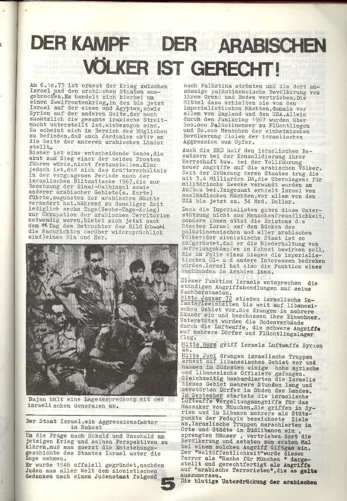 Schulkampf _ Zeitung des KOB, Nr. 8/73, Seite 5