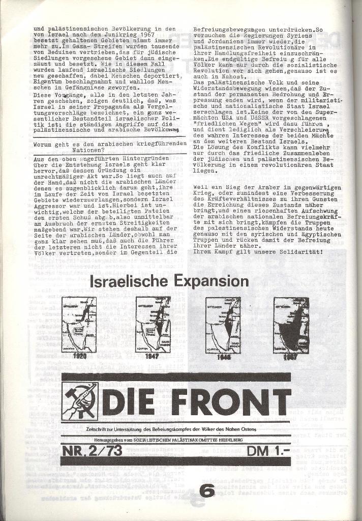 Schulkampf _ Zeitung des KOB, Nr. 8/73, Seite 6