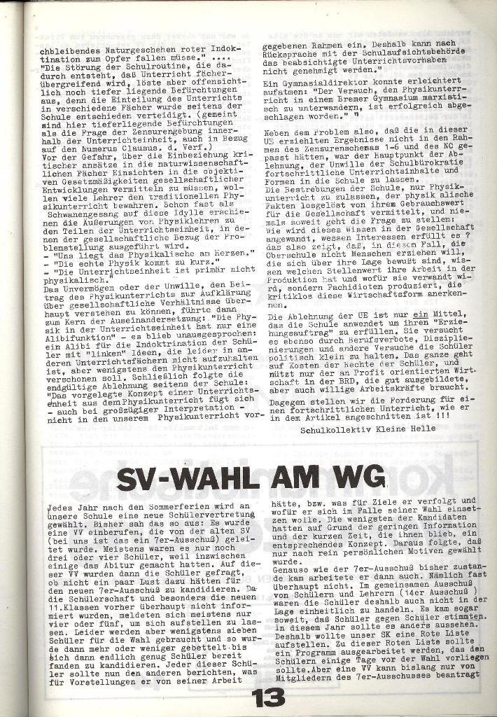 Schulkampf _ Zeitung des KOB, Nr. 8/73, Seite 13