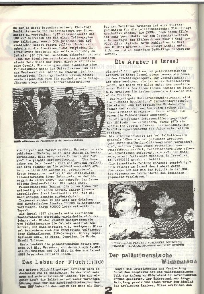 Schulkampf _ Zeitung des KOB, Nr. 9/73, Seite 2