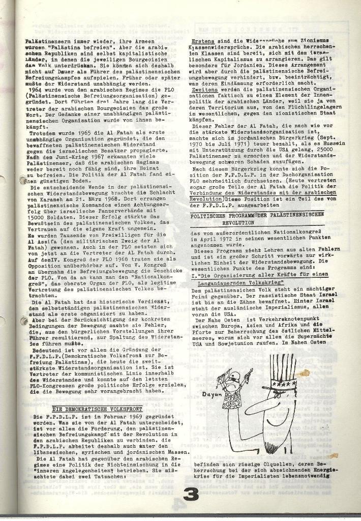 Schulkampf _ Zeitung des KOB, Nr. 9/73, Seite 3