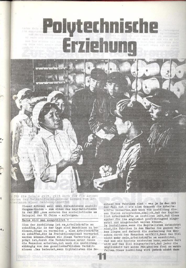 Schulkampf _ Zeitung des KOB, Nr. 9/73, Seite 11