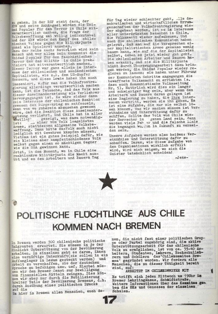 Schulkampf _ Zeitung des KOB, Nr. 9/73, Seite 17