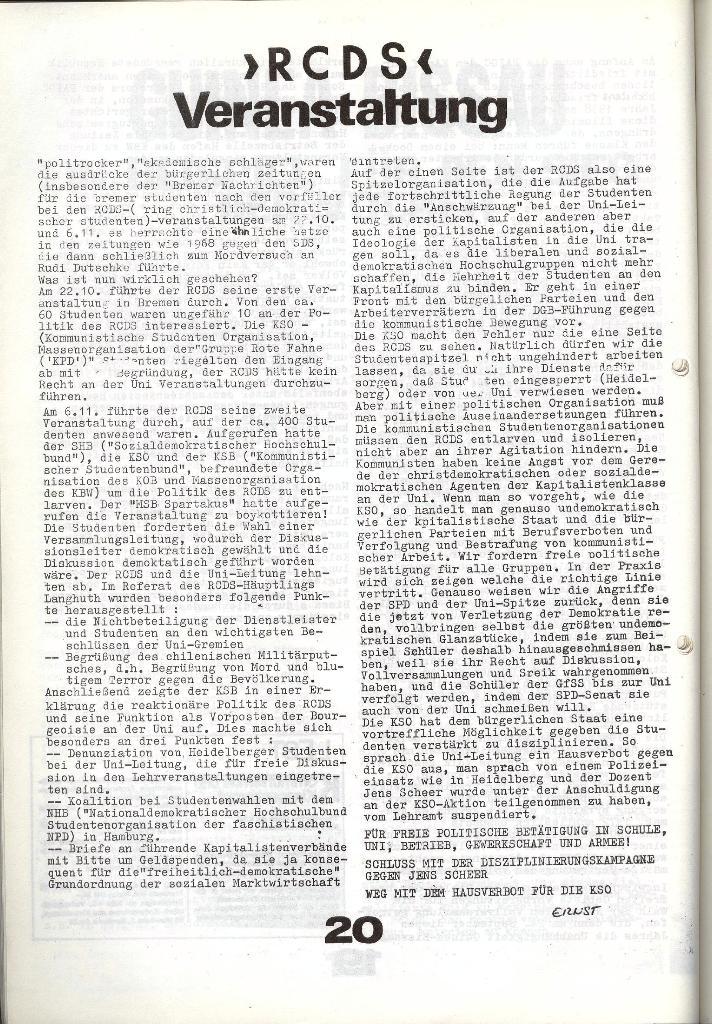 Schulkampf _ Zeitung des KOB, Nr. 9/73, Seite 20