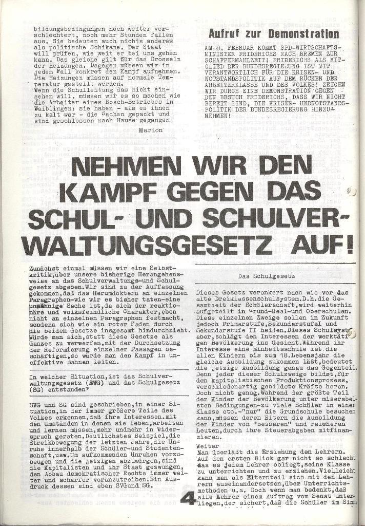Schulkampf _ Zeitung des KOB, Nr. 1/74, Seite 4