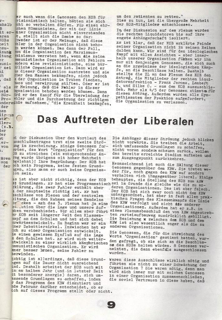 Schulkampf _ Zeitung des KOB, Extra, 14.1.74 , Seite 9