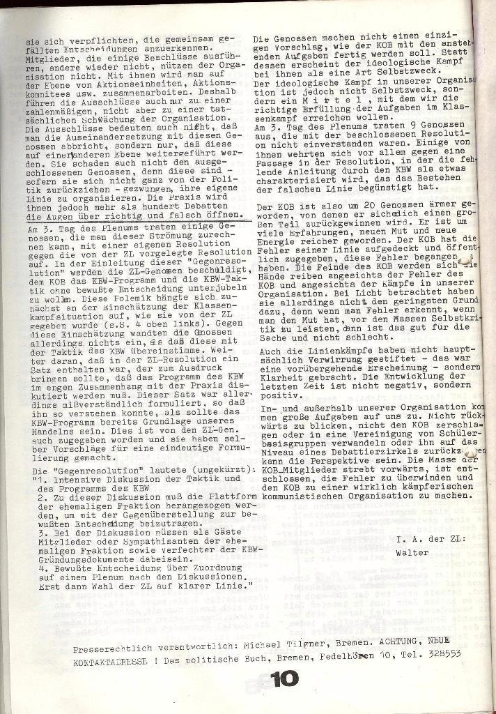 Schulkampf _ Zeitung des KOB, Extra, 14.1.74 , Seite 10