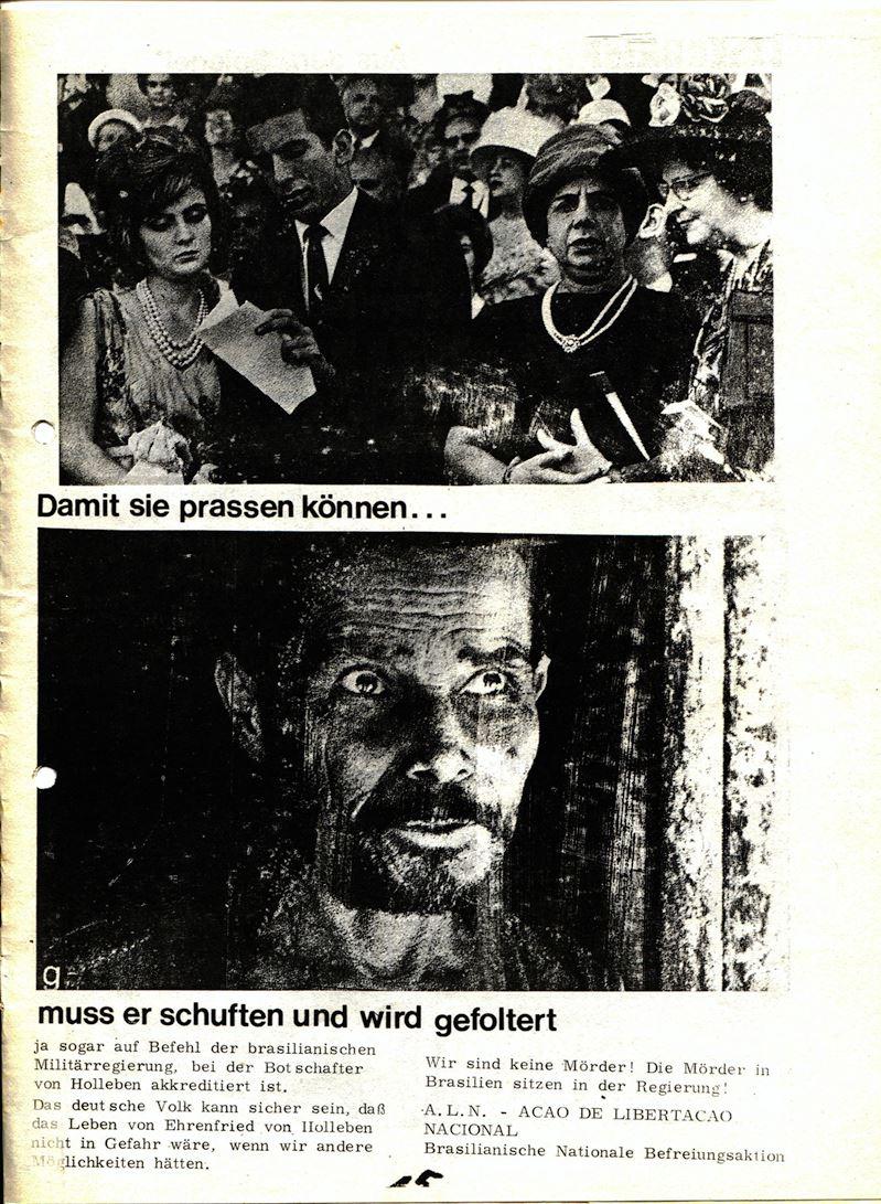 Blohm und Voss Arbeiterzeitung, Nr. 3, Jg. 1, Juli/August 1970, Seite 16