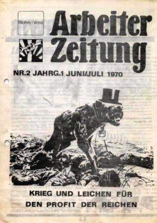 Arbeiter_Zeitung, Jahrgang 1, Nr. 1, Juni/Juli 1970