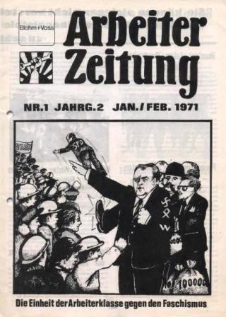 Arbeiter_Zeitung, Jahrgang 2, Nr. 1, Jan/Feb 1971
