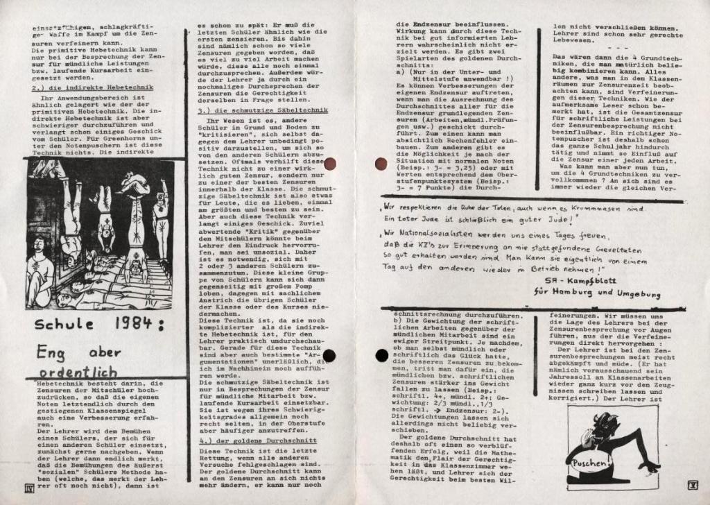 Dialog _ Zeitung für das Gymnasium Rahlstedt, Extra, 21.2.1978, S. 4 und 5