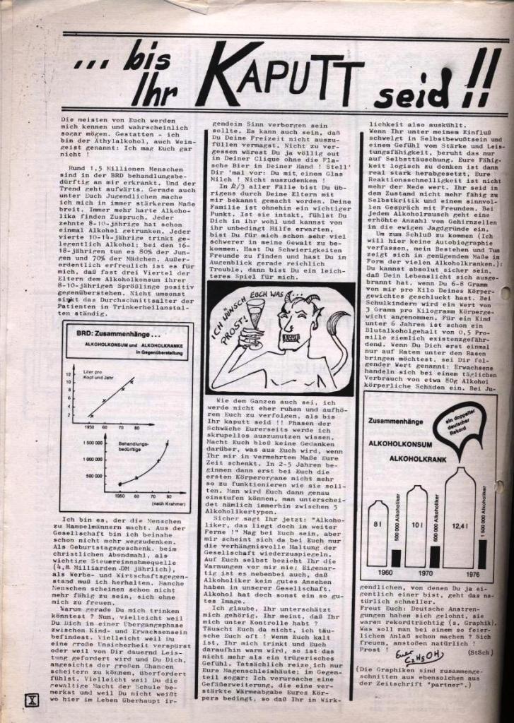 Dialog _ Zeitung für das Gymnasium Rahlstedt, Nr. 1/1978, Seite 10