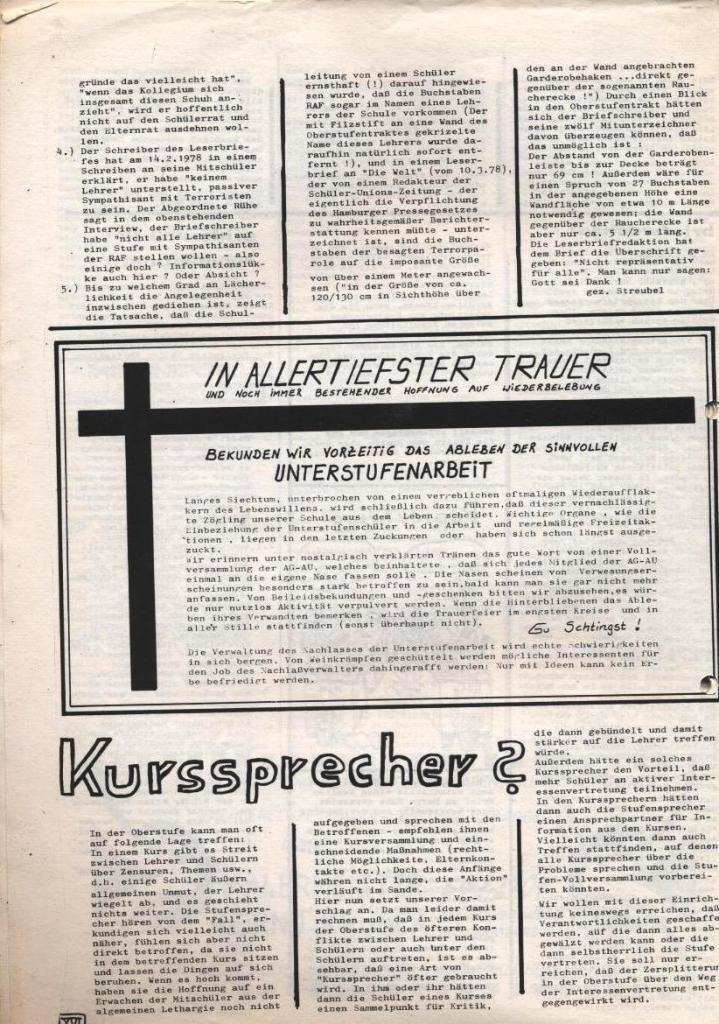 Dialog _ Zeitung für das Gymnasium Rahlstedt, Nr. 1/1978, Seite 16